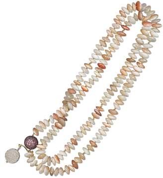 Janis Provisor Jewelry Peach Moonstone Charming Dangle