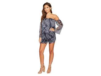 The Jetset Diaries Midnight Paisley Romper Women's Jumpsuit & Rompers One Piece