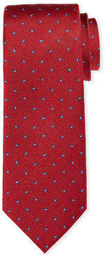 Neiman Marcus Pine Paisley Silk Tie