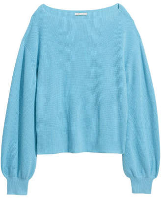 H&M Knit Cashmere Sweater - Turquoise
