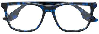 McQ Eyewear contrast tortoiseshell glasses