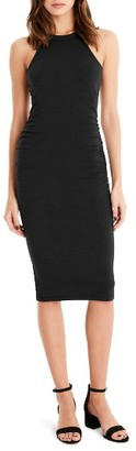 Women's Michael Stars Halter Midi Dress $88 thestylecure.com