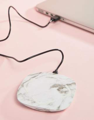 Cotton On Marble Wireless Portable Charger