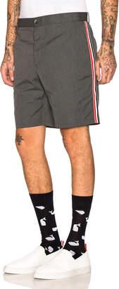 Thom Browne Unconstructed Shorts in Medium Grey | FWRD