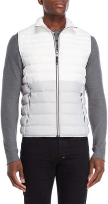 Michael Kors Color Block Quilted Puffer Vest