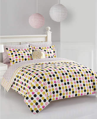 Idea Nuova Urban Living Spotted Dots Bedding Set - King Bedding