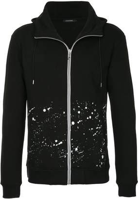 GUILD PRIME zipped printed hoodie