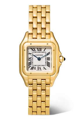 Cartier Panthère De Small 22mm 18-karat Gold Watch