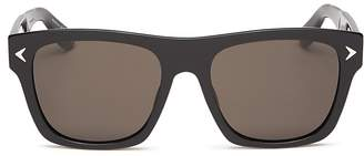 Givenchy Flat Top Sunglasses, 55mm