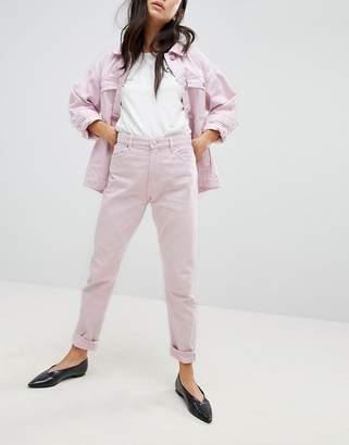 Monki Kimomo Pink Mom Jeans