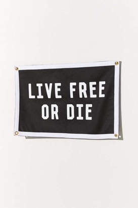 Urban Outfitters Oxford Pennant For Live Free Wall Hanging