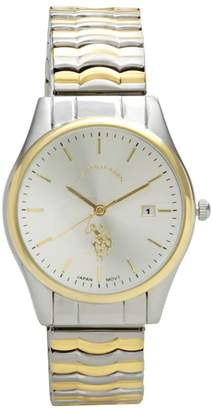 U.S. Polo Assn. Men's Two Tone Expansion Watch - USC80006