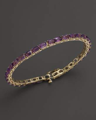 Bloomingdale's Amethyst Bracelet in 14K Yellow Gold - 100% Exclusive