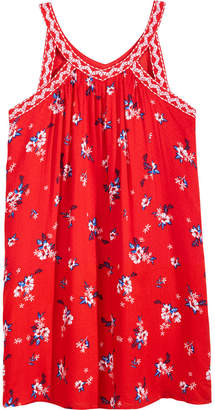 Epic Threads Floral-Print Keyhole Strap Dress, Big Girls, Created for Macy's