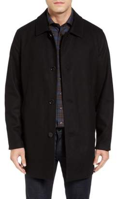 Cole Haan Signature Reversible Wool Blend Overcoat