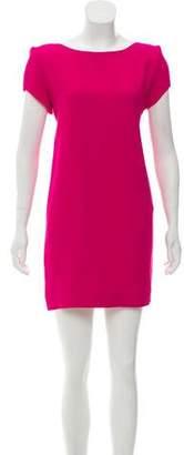 Saint Laurent Crepe Shift Dress
