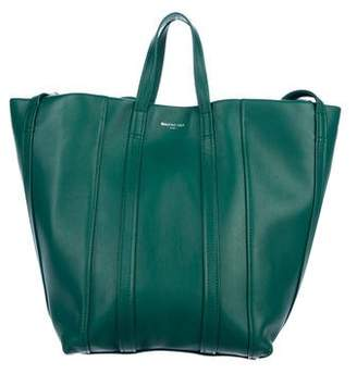 Balenciaga Laundry Cabas 4-Strap Leather Extra Large Tote