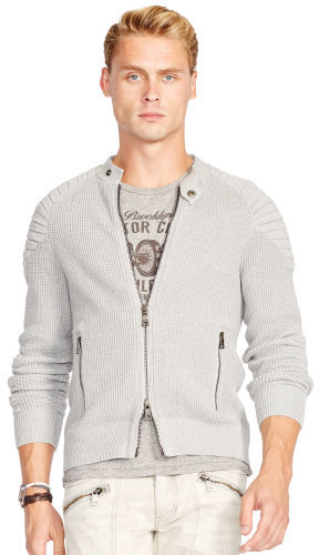 Polo Ralph Lauren Polo Ralph Lauren Slim Moto Full-Zip Sweater