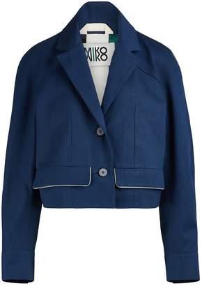 Miko Miko Denim pea jacket