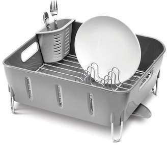 Simplehuman Grey Compact Dish Rack