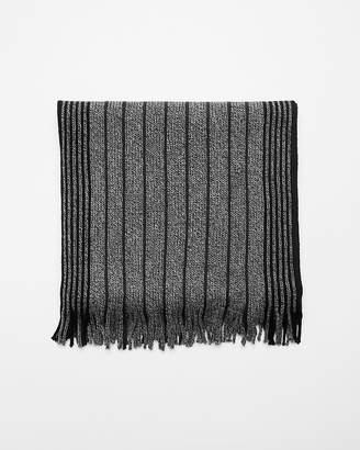 Express Stripe Merino Wool Scarf