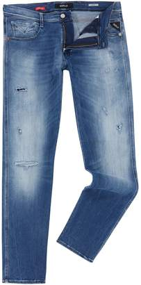 Replay Men's Anbass Slim-Fit Jeans