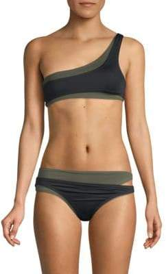 Proenza Schouler Two-Piece Layered Bikini