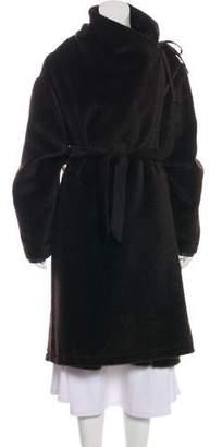 Max Mara Alpaca & Virgin Wool-Blend Reversible coat.