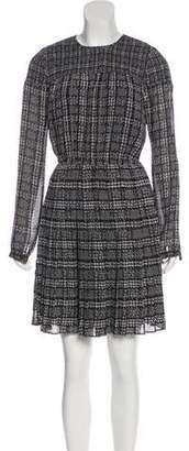 MICHAEL Michael Kors Printed Knee-Length Dress