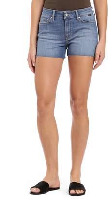 Mavi Jeans Emily Raw Hem Denim Shorts