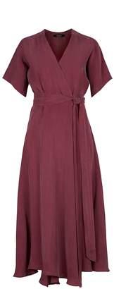Flow Red Berry Sensation Wrap Dress