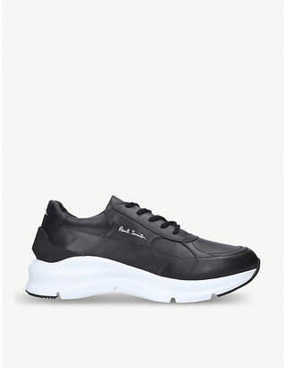 Explorer leather trainers