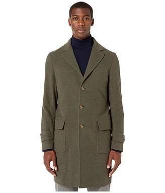 Eleventy Double Face Wool Overcoat