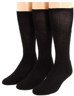 Thorlos Western Dress 3-Pair Pack Crew Cut Socks Shoes