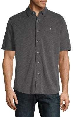 Saks Fifth Avenue Polynosic Button-Down Shirt