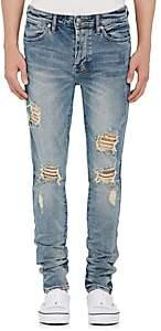 Ksubi Men's Van Winkle Distressed Skinny Jeans-Blue