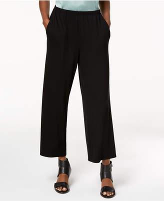 Eileen Fisher Stretch Jersey Wide-Leg Pants
