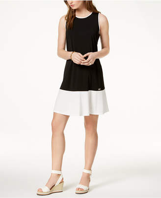 Tommy Hilfiger Colorblocked Dress, Created for Macy's