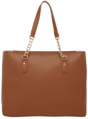 At Ebay Jag New Loz Chain Tote Bag Tan