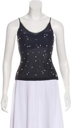 Chanel Embellished Sleeveless Top w/ Tags