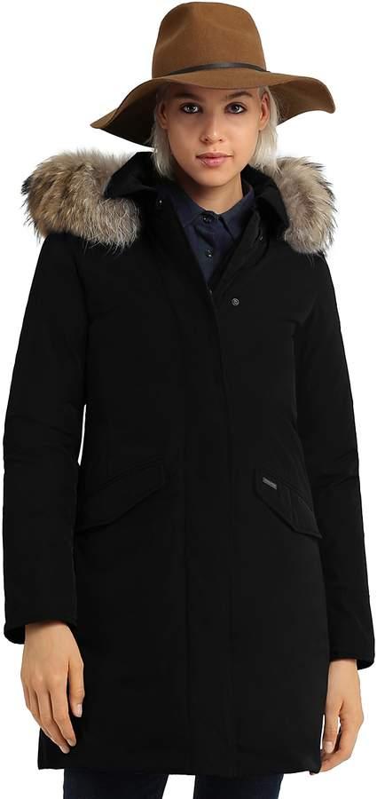 Modern Vail Fur Trim Coat - 100% Exclusive