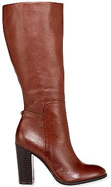 JCPenney Liz & Co.® Bailey Tall High-Heel Leather Boots