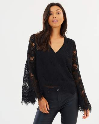 MinkPink Tainted Love Lace Top