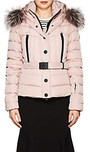 ... Moncler Women's Beverley Tech-Faille Puffer Coat-Pink