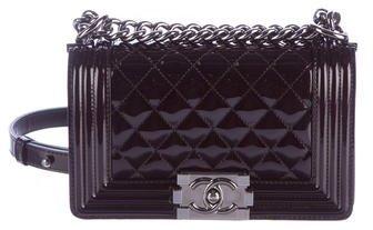 Chanel Patent Small Boy Bag