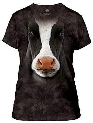 The Mountain Cow Face Adult Woman's T-Shirt
