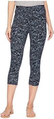 Fresh Produce Waves Oceanside Capri Leggings Women's Casual Pants
