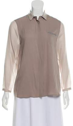 Fabiana Filippi Silk Button Up Shirt