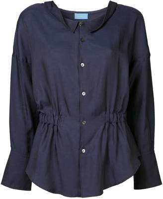 Undercover gathered waist blouse