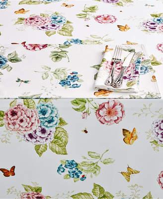 """Lenox Butterfly Meadow Hydrangea 60"""" x 102"""" Tablecloth"""